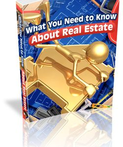 eBook cover for What You Need to Know about Real Estate