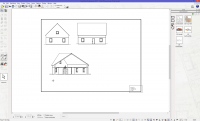 2D House Plan Mode Interface