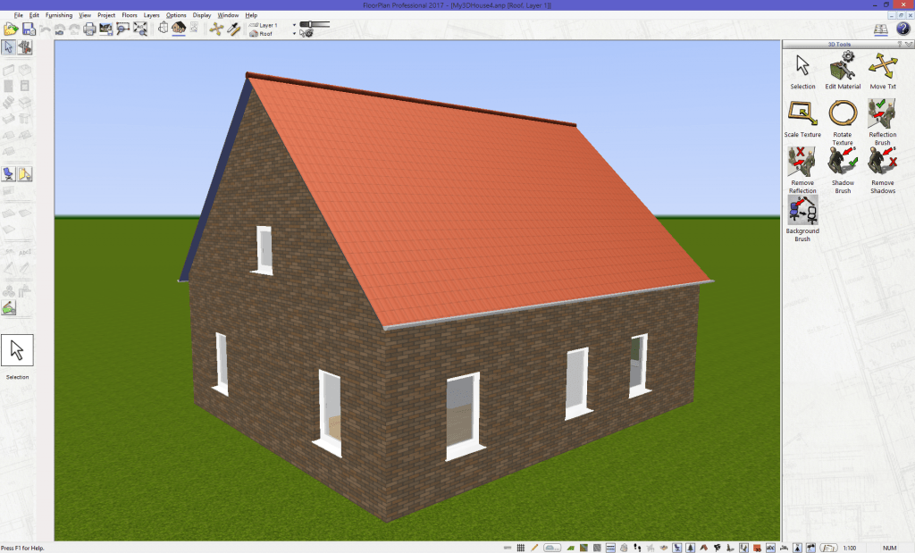 3D House from 2D