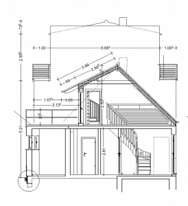 building regs elevation drawing
