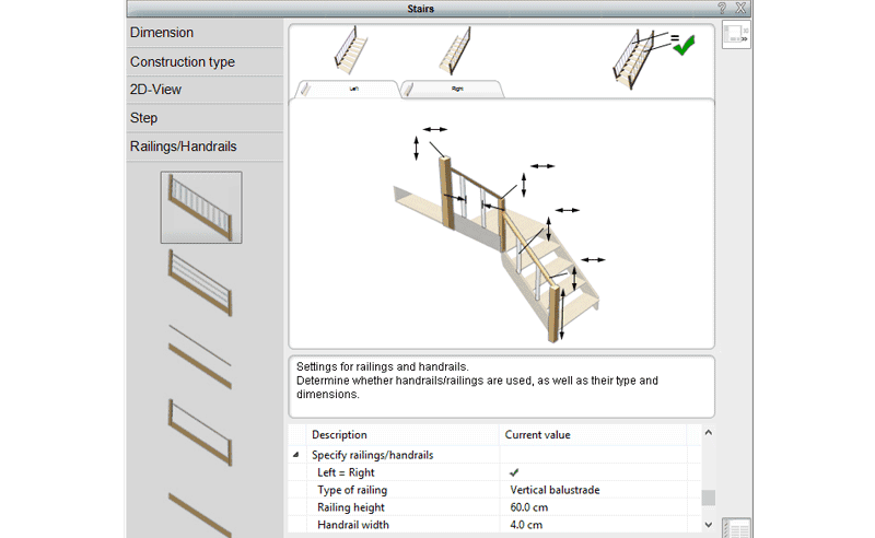 stair designer software