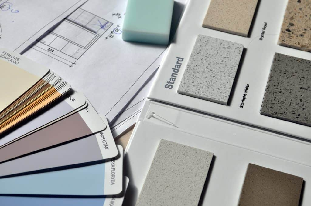 Interior Finishes Options (Paint, Counters)
