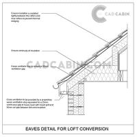 cad drawings pack UK building regulations eaves loft conversion