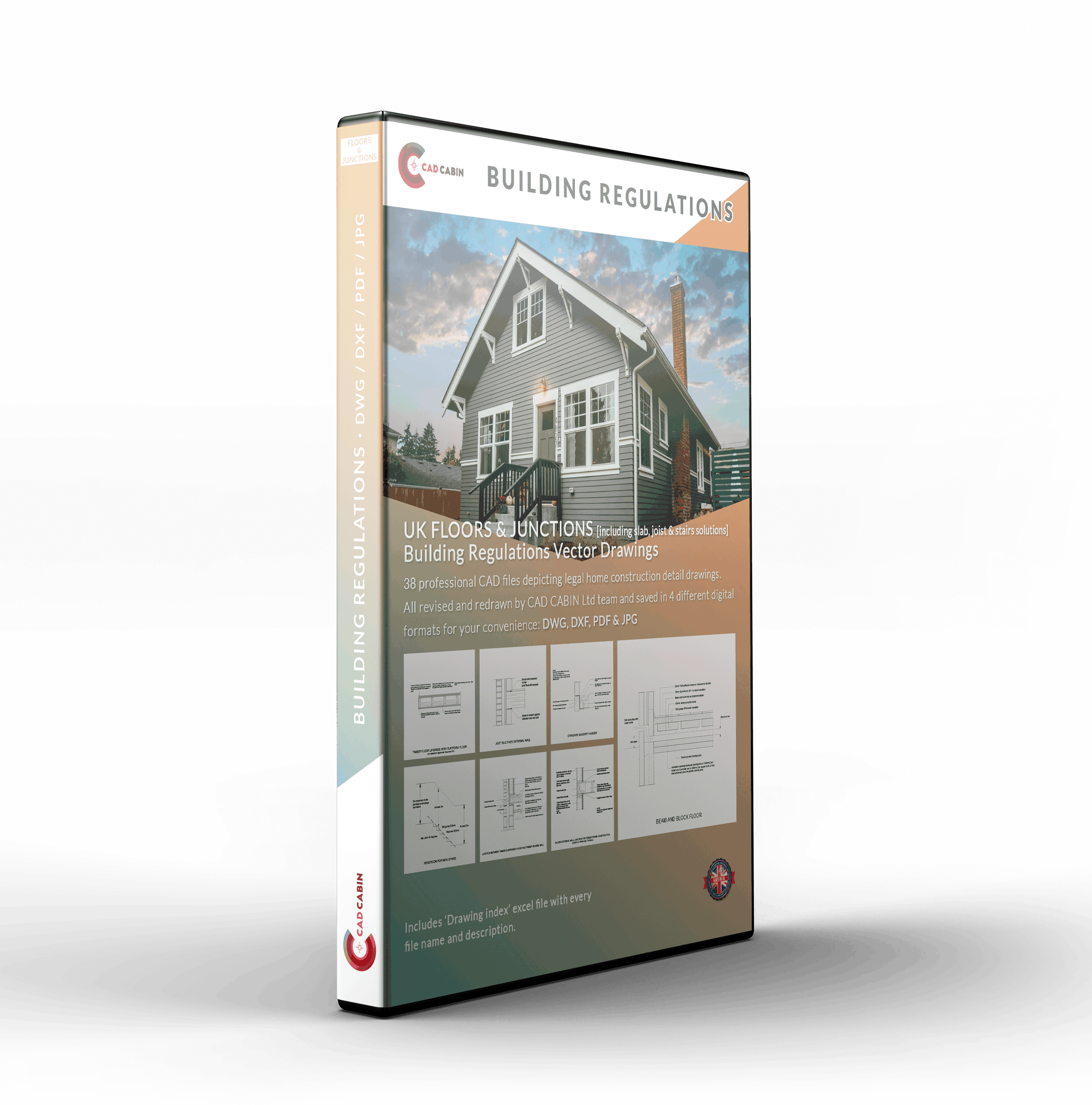 Floors & Junctions Building Regulation Drawings Pack