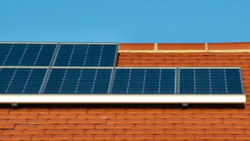 Solar Panels at Roof