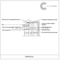 cad drawings pack UK building regulations window sill