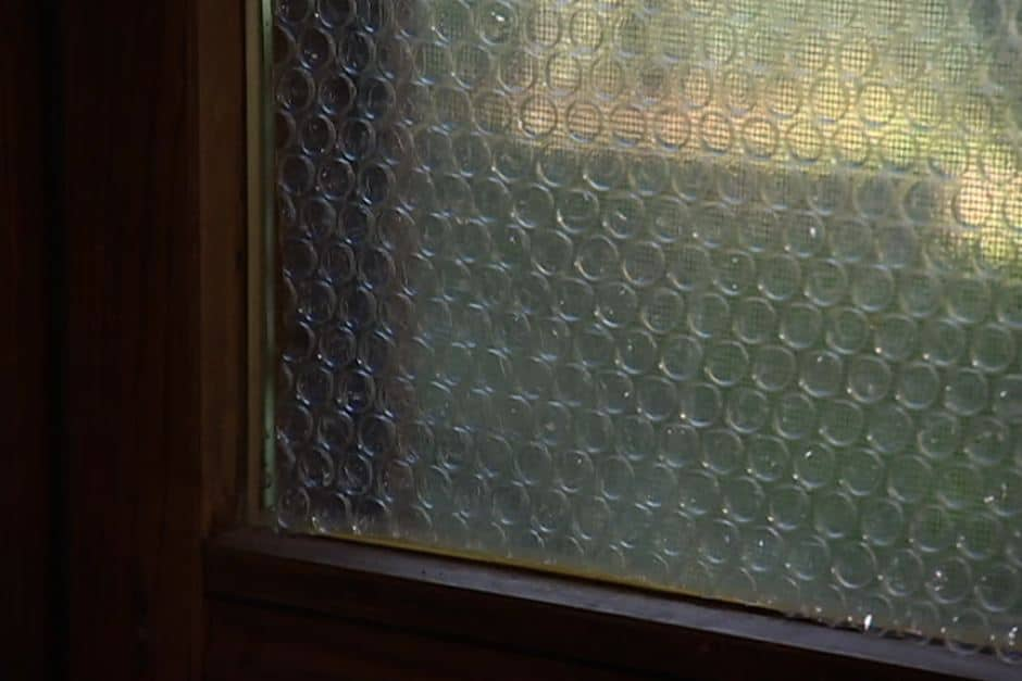 Bubble wrapping Windows - Simple Tips to Keep Your Home Warm During Winter