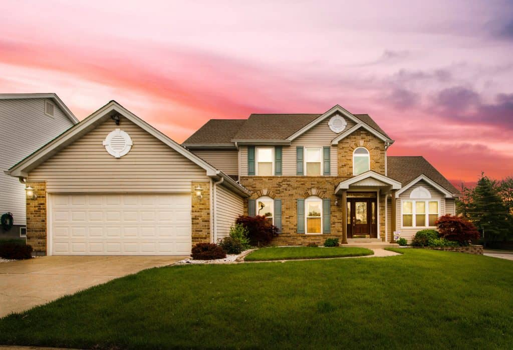 View of a House from the curb - Ways to Improve Your Home's Curb Appeal