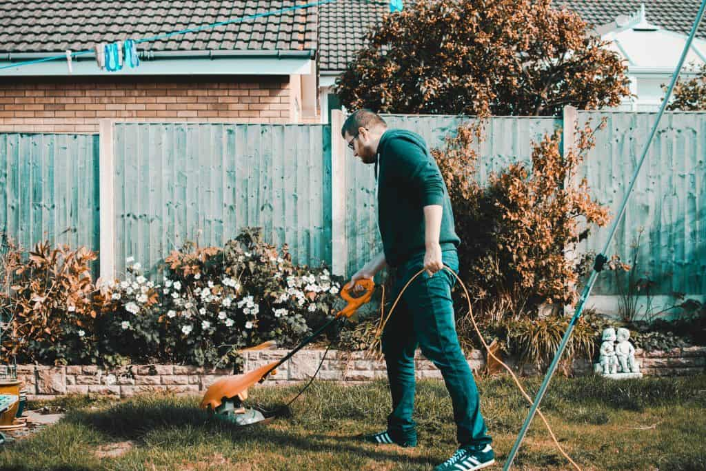 Mowing Grass - Ways to Improve Your Home's Curb Appeal