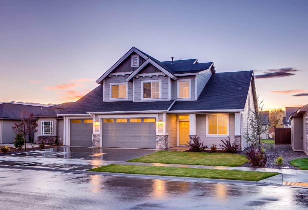 Curb View of a House - Ways to Improve Your Home's Curb Appeal